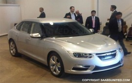 New Saab 9-3. Debut Photos.