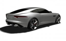 New 2015 Jaguar coupe F-Type