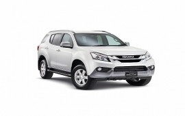 Isuzu will introduce its new MU-X SUV