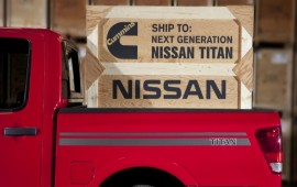 New Nissan Titan will get a V-8 Turbo diesel engine of Cummins Inc.