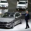 Daimler gets many orders for its new Mercedes S class