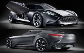 Hyundai declassified a prototype of the future Genesis