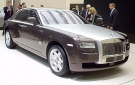 The renewed Rolls-Royce Ghost