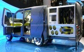 Nissan will produce an electric van