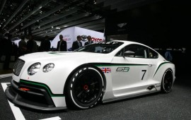 Bentley Continental GT3 Racer will probably be over 2000 Pounds Lighter than the Street Version