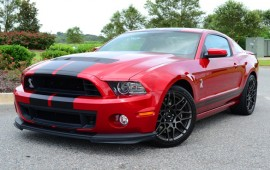 2014 Ford Shelby GT500 -- act of charity