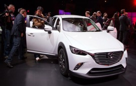 Mazda zoom zooms into tiny CUVs with CX-3