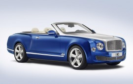 Bentley drops the top on Mulsanne flagship