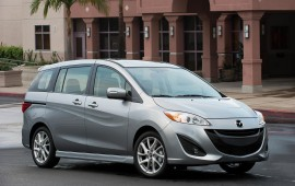 Mazda slips 71 as little minivan is phased out