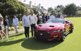 Henrik Fisker designs exotic convertible for Galpin