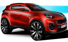 Kia retools Sportage with sleeker styling, upscale interior