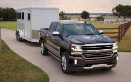 Chevy Silverado face-lift adds LED lighting, 8-speed automatic, safety gear