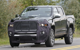 GMC preps upscale Canyon Denali, spy photos show