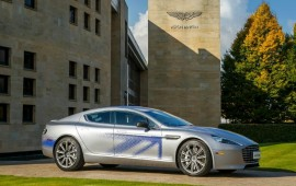 Aston Martin wins Chinese investment for Rapide electric sports car