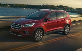 Ford reboots 2017 Escape with 2 new engines, stop-start, safety upgrades