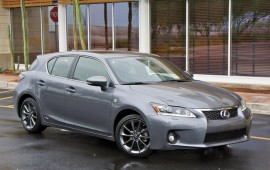 The 2014 Lexus CT 200h will get a new grille