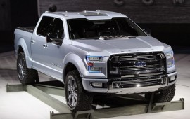 Ford Atlas of Detroit Motor Show 2013.