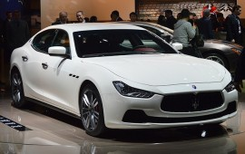 Maserati Ghibli was presented in Shanghai