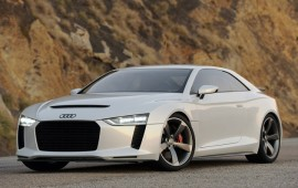The introduction of Audi Quattro concept car