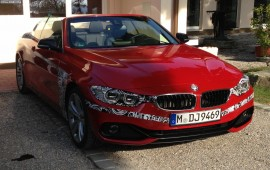 New BMW Cabrio of 4-series