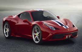 The debut of Ferrari 458 Speciale takes place at the Auto Show in Frankfurt
