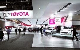 Toyota is a sales leader