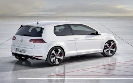 The new Golf GTI was speed tested