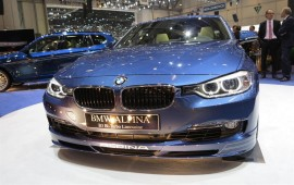 Alpina D3 Bi-turbo at Frankfurt motor show